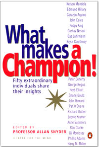 What Makes a Champion! Book