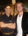 Allan Snyder with Chad Hurley